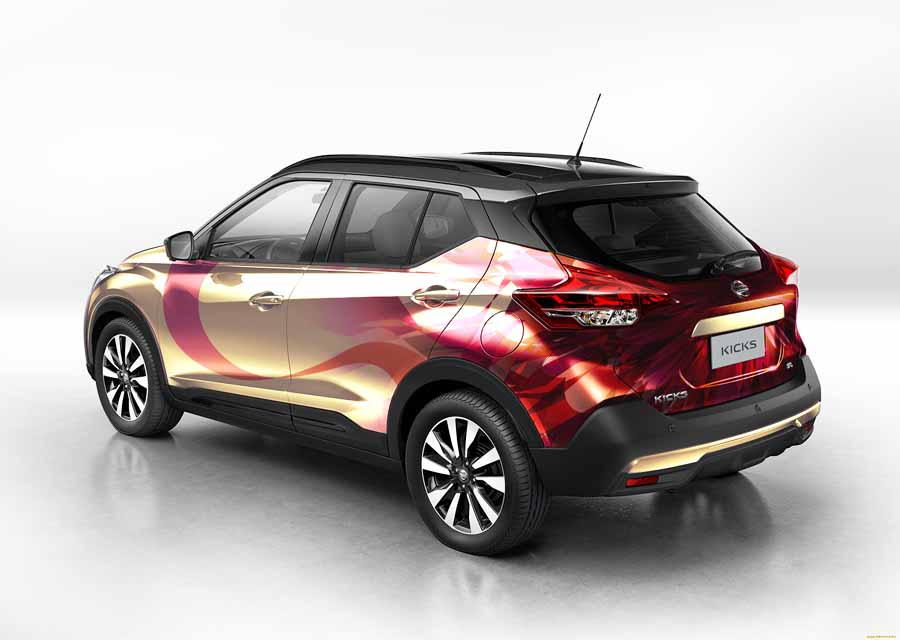 Nissan Kicks japonés partes trasera