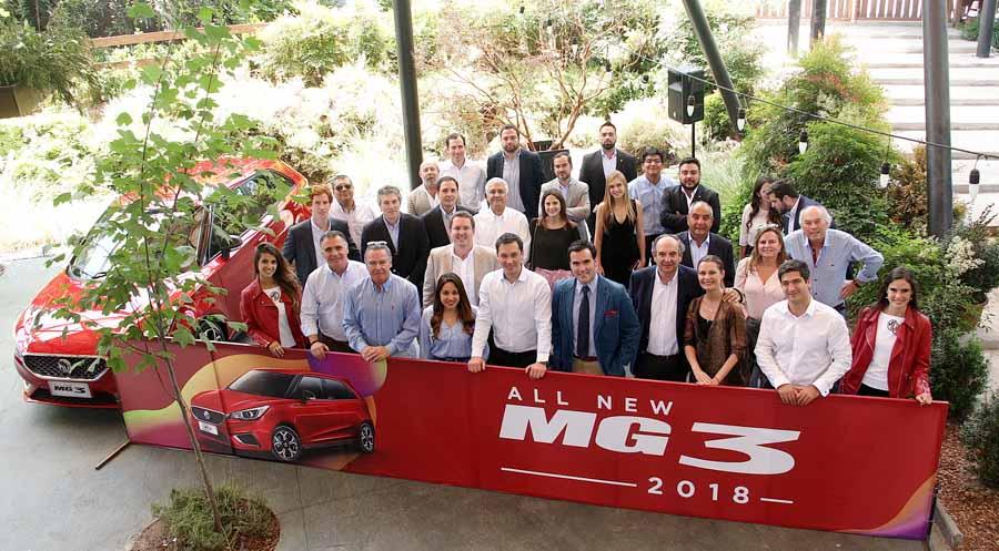 El nuevo MG 3 ya está en Chile