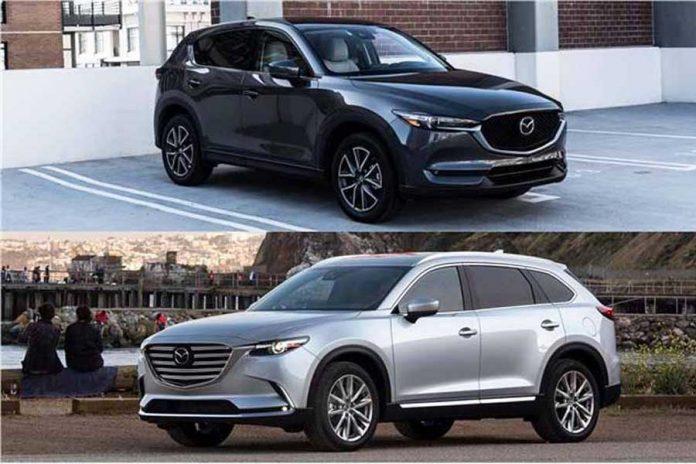 Mazda CX9 y CX5 son elegidos mejores SUV 2019