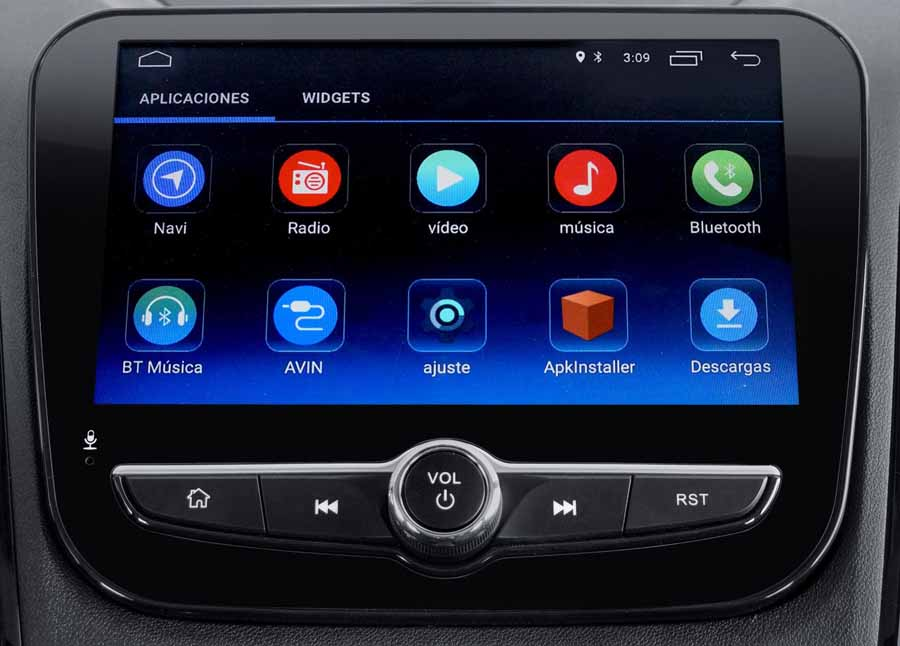 Radio Touch de Changan CS55
