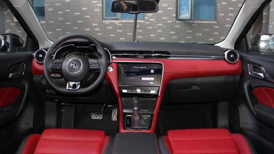 All New MG 6 interior