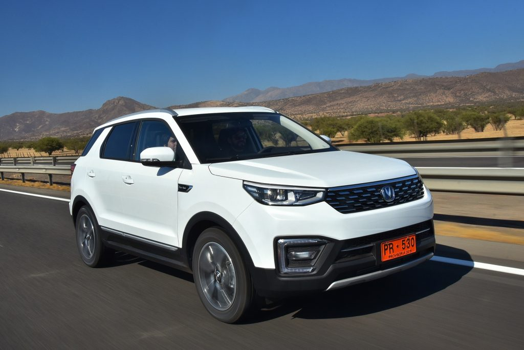 Changan marca emergente más vendida en Chile