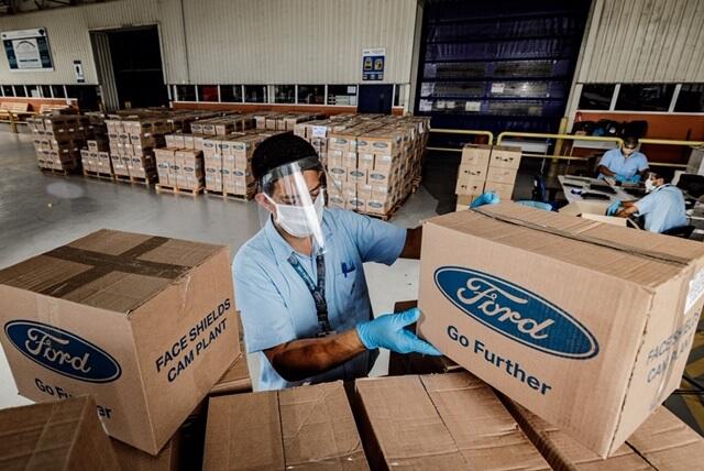 Ford Motor Company Fund contribuye con más de un millón de dólares a la lucha contra el COVID-19