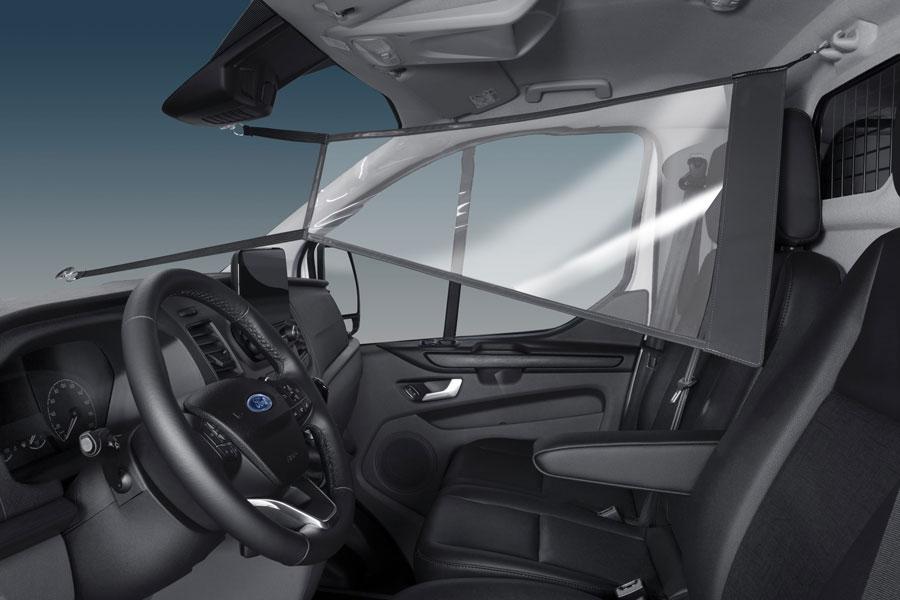 Ford Europa desarrolló pantalla de protección para mantener la distancia social